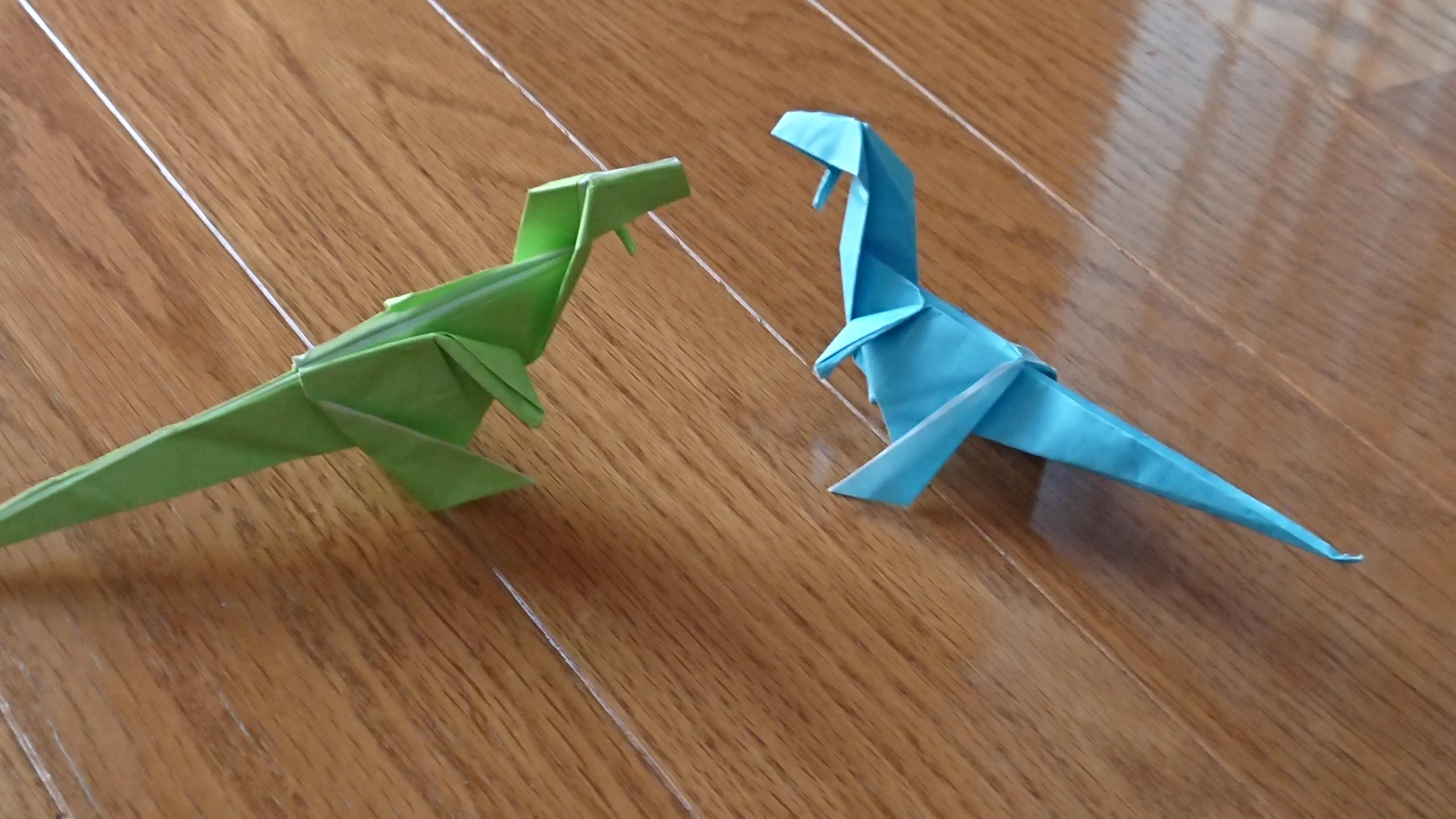 恐竜「エオラプトル」を折り紙で折ろう!作り方と折るポイントを紹介