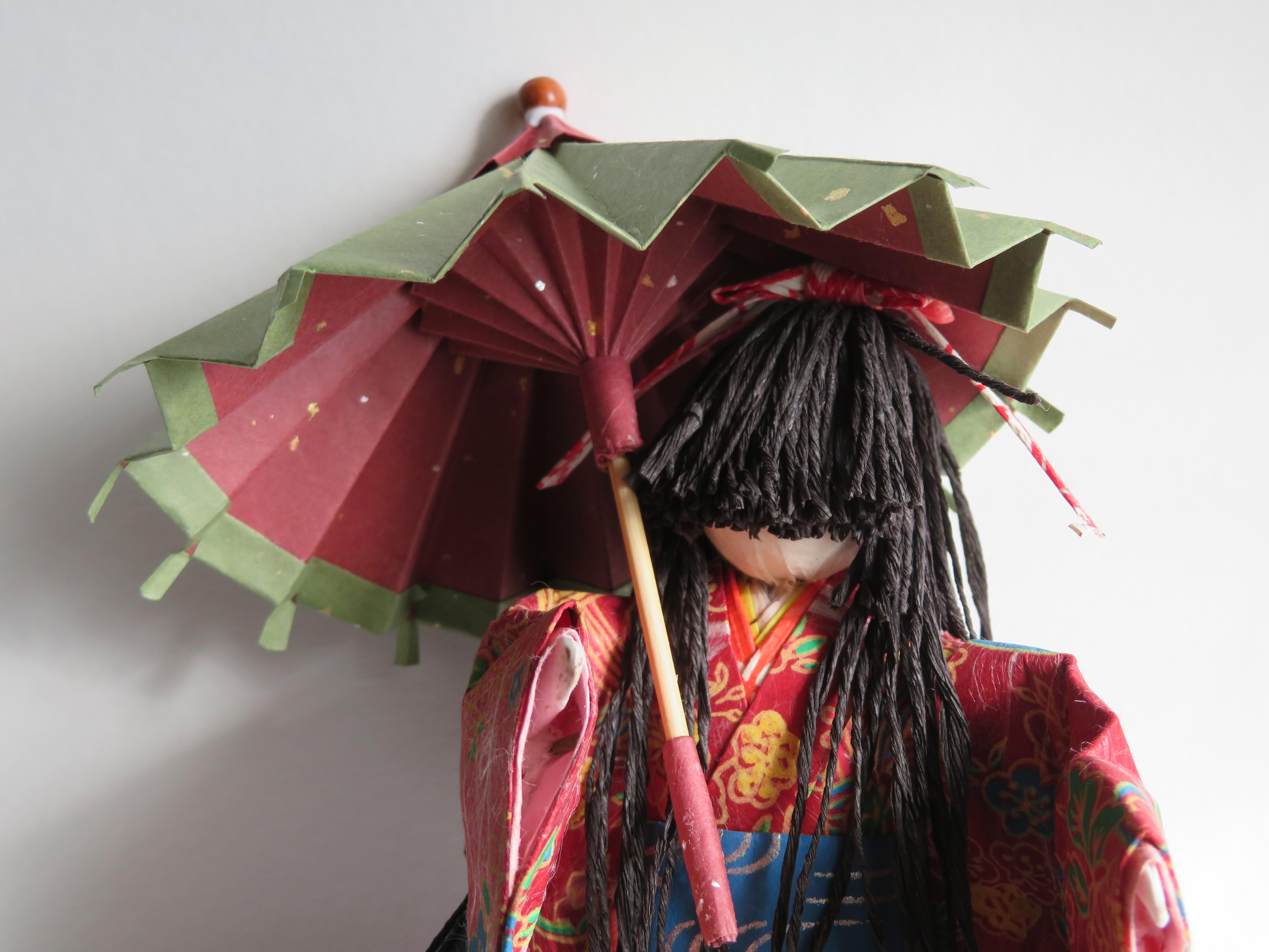 傘・パラソル(折り紙)の折り方!簡単に立体的に作る手順・コツは?