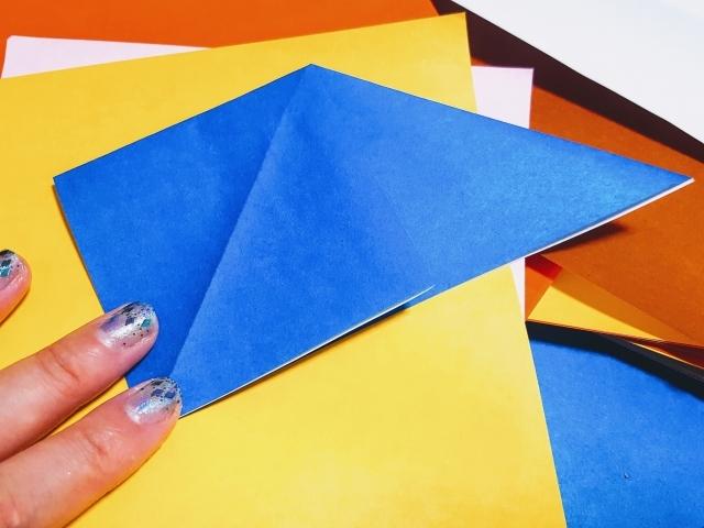 折り紙「ひまわりの葉っぱ」の折り方!かんたんな手順をご紹介!