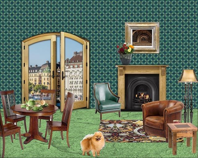 花柄の壁紙のインテリア実例7選!おしゃれでかわいい部屋の壁をご紹介!