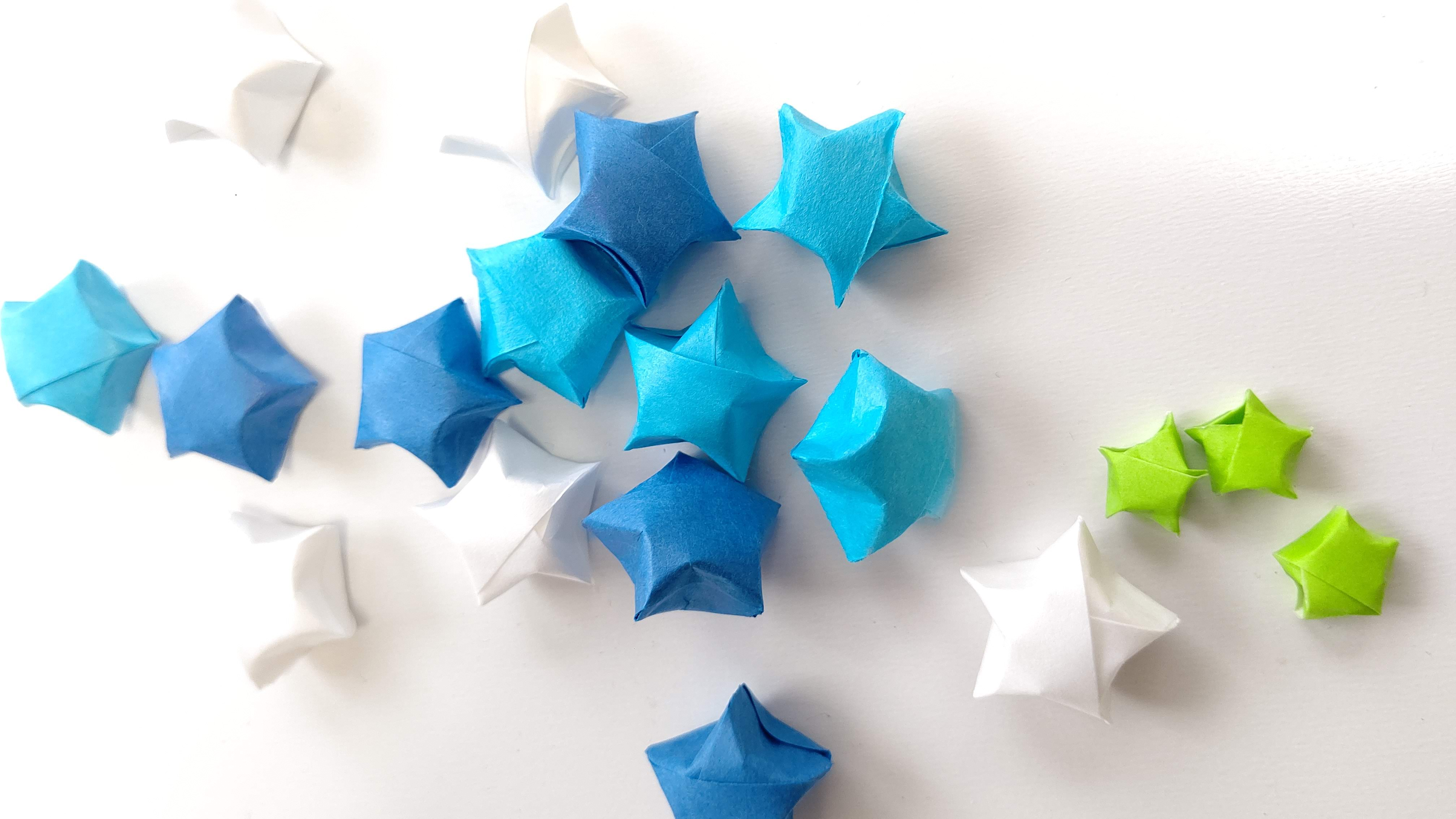 折り紙「ラッキースター」の手順を解説!ふっくらと折るコツを紹介!