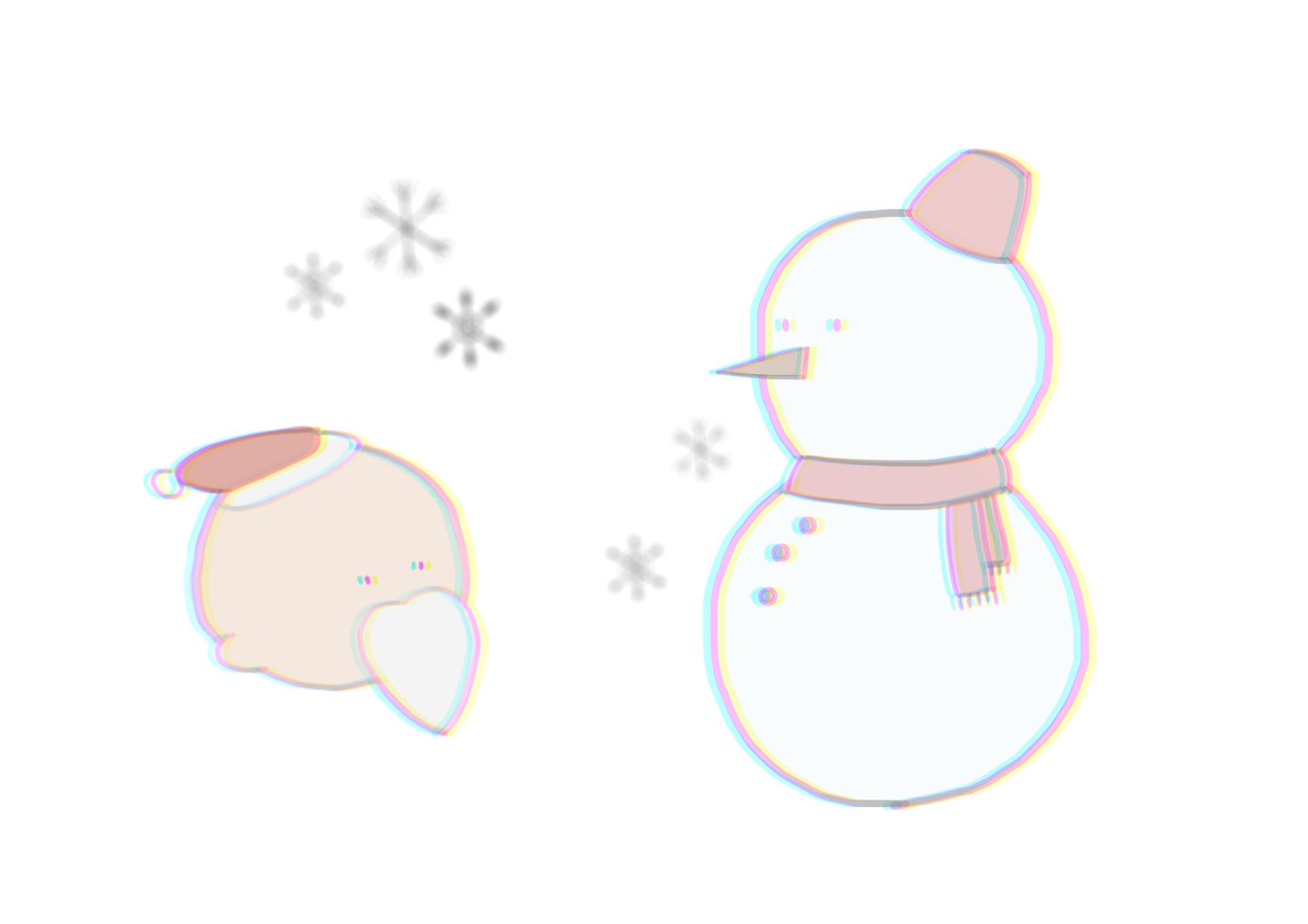 冬の手書きイラストの描き方!初心者向けの簡単な描き方・コツも紹介!
