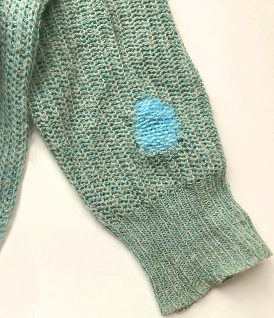 ダーニングのやり方講座!セーターの穴は美しい刺繍で補修してみよう!