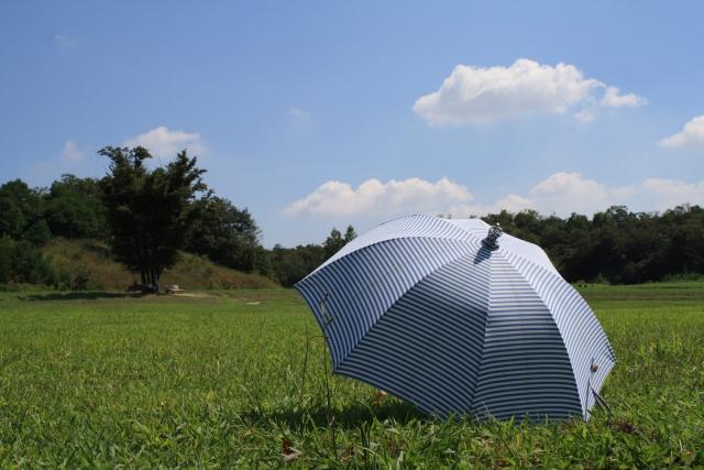 おしゃれな男性用日傘13!暑い日はスマートにメンズ日傘をさそう!