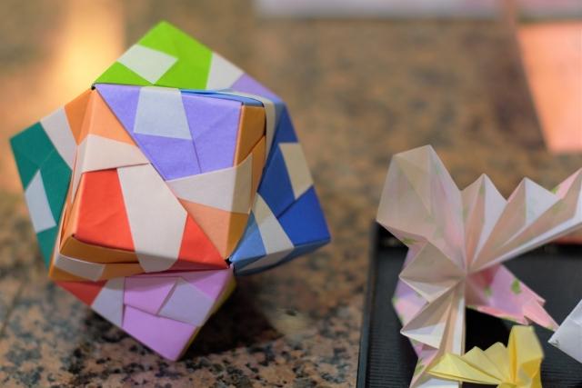 飾り 作り方 折り紙 くす玉 七夕 の