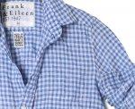 ギンガムチェックシャツで春夏コーデは決まり|フランクアンドアイリーン