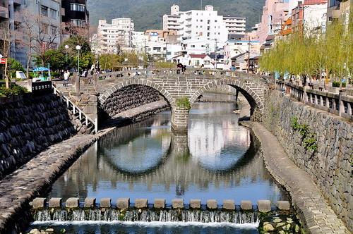 長崎の眼鏡橋は日本三名橋の一つ!ハートストーンや周辺のおしゃれカフェも人気