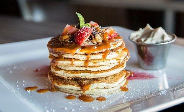 秋葉原でふわふわパンケーキを!買い物の休憩や朝ごはんにいかが?