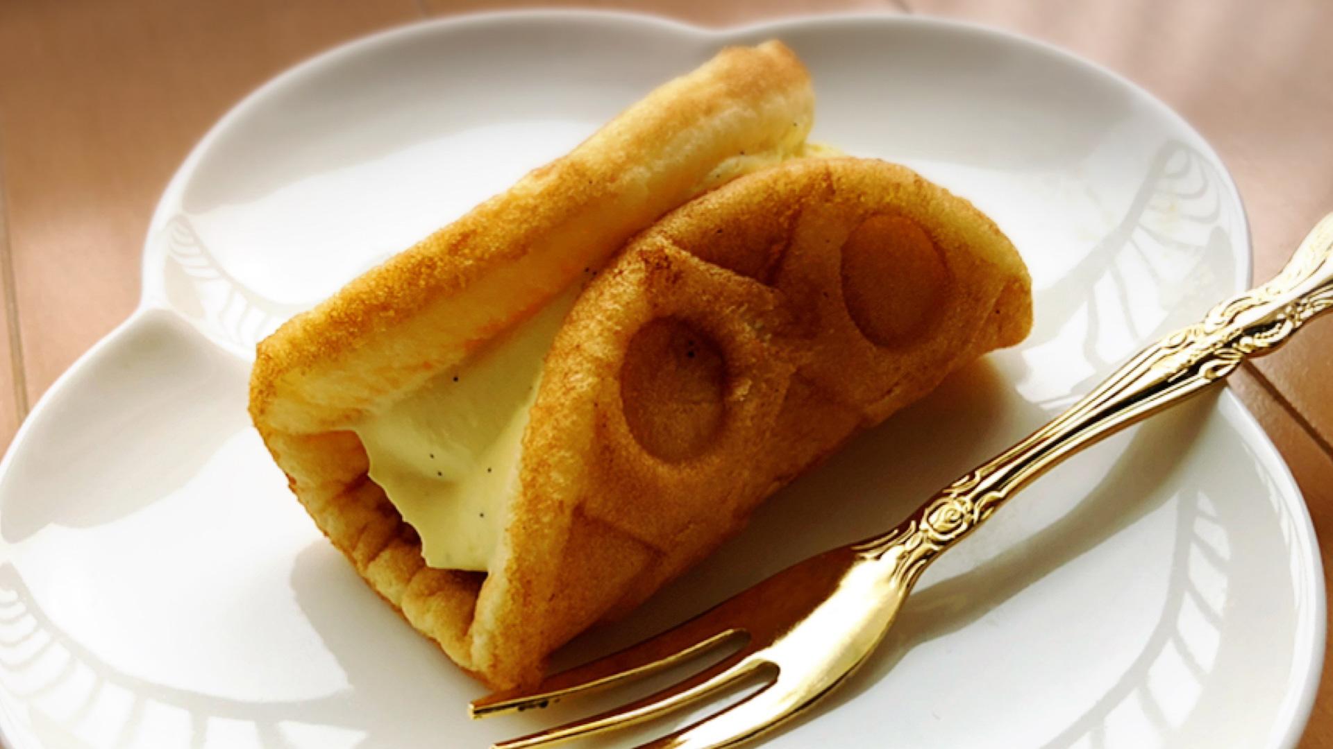 実食レポ【セブン】卵と牛乳の優しい甘さ ワッフルで幸せ気分♡
