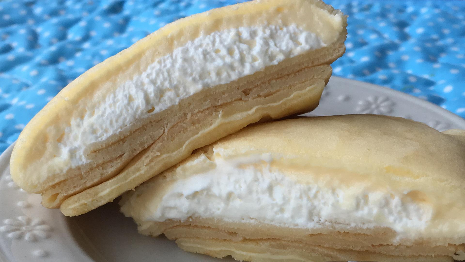 実食レポ【セブン】濃厚×爽やか風味♪もっちりクレープ ダブルレアチーズクリーム
