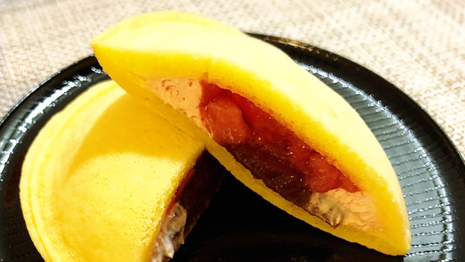 実食レポ【セブン】もちっとどら 苺&ホイップでいちご三昧!