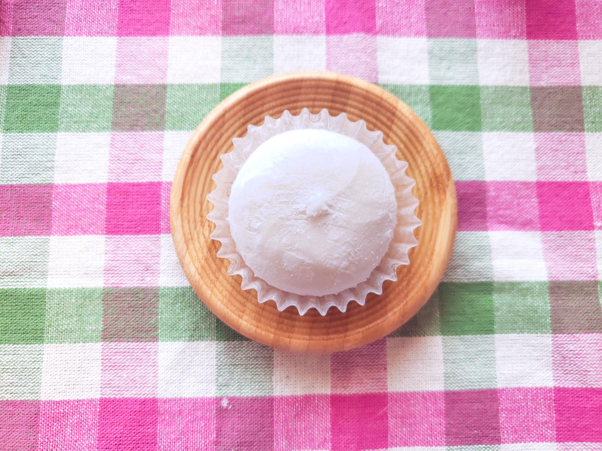 復活した癒しの世界♡セブンのマシュマロ食感!いちごクリーム大福
