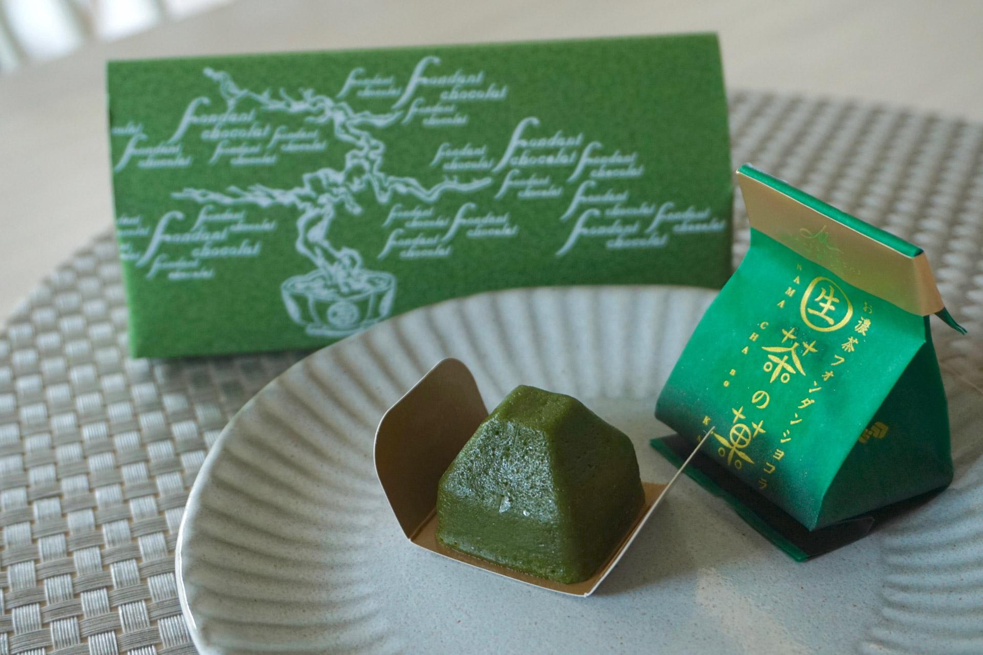 ひとくちで京都へトリップ♡【マールブランシュ】生茶の菓で濃厚抹茶体験♡