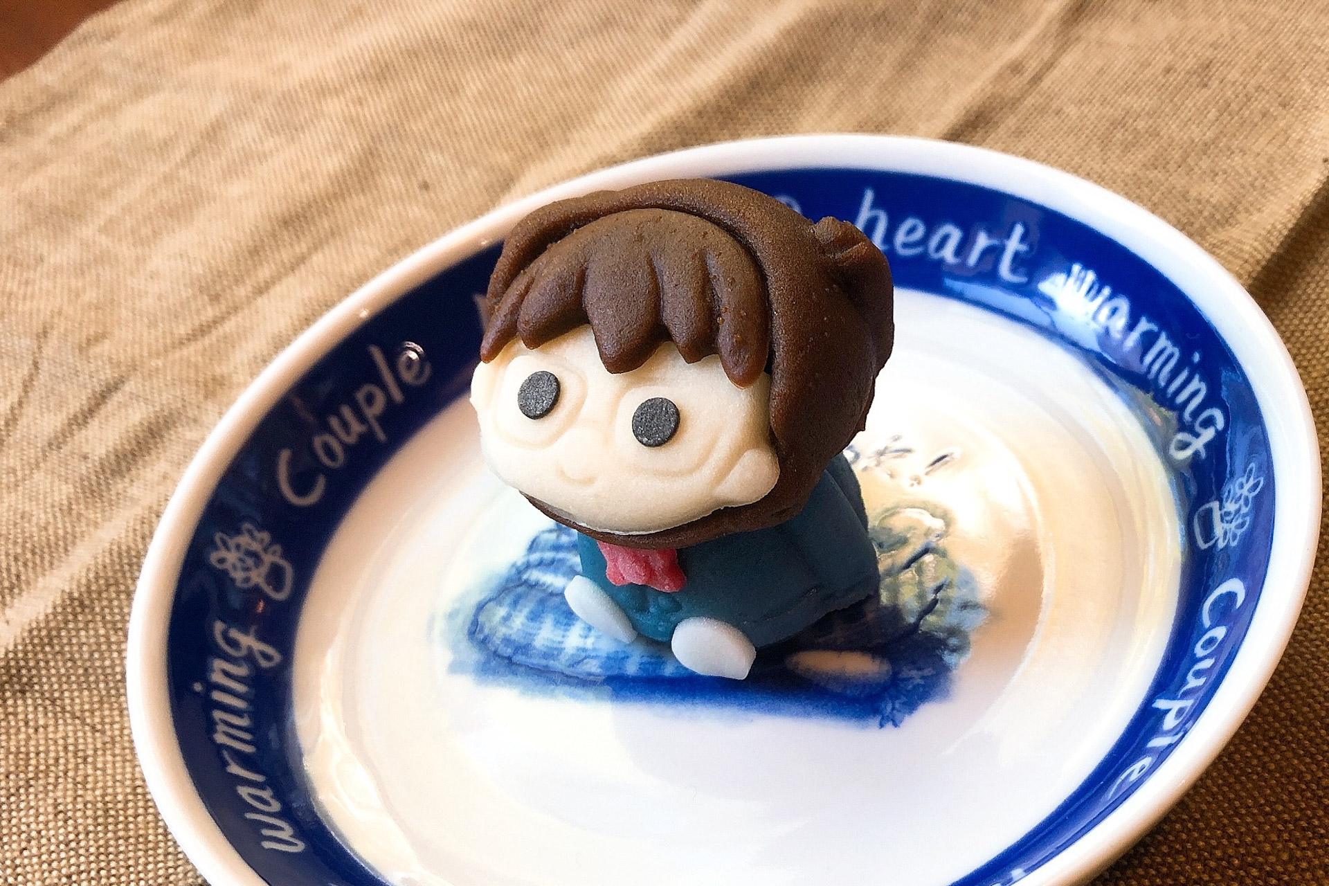 見た目はコナン、中身は和菓子!セブン限定「食べマス名探偵コナン 江戸川コナン」