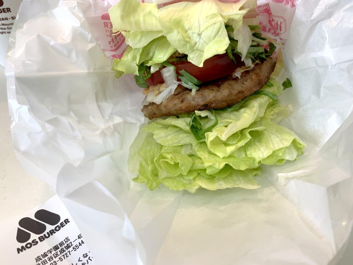 モスバーガーの「菜摘」はダイエットの味方!気になる糖質やカロリーは?