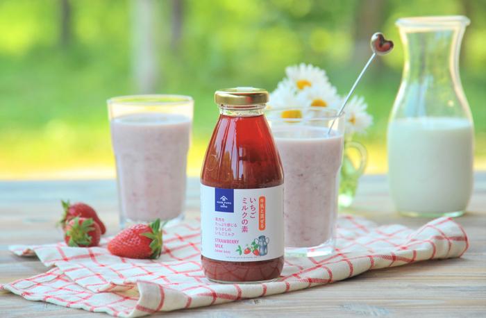 久世福商店の「牛乳と混ぜる いちごミルクの素」が累計2万5千本突破!