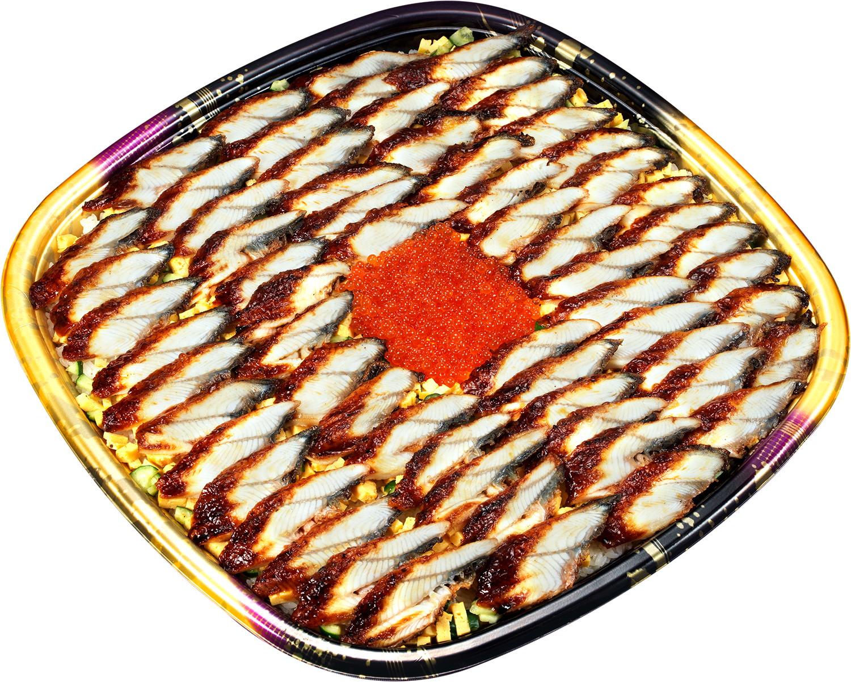 かっぱ寿司が「メガうなぎいくらちらし」を発売!さらに20%OFFにも!