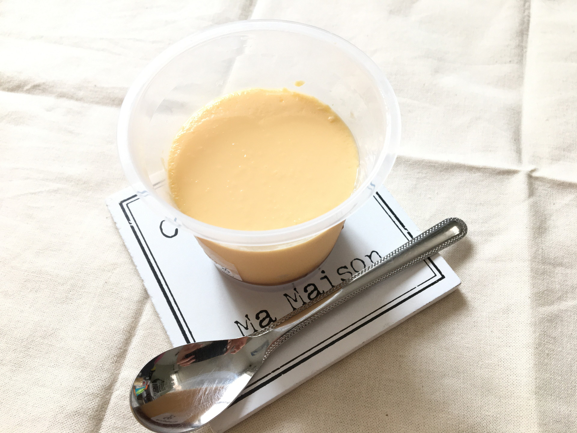 【セブン】濃厚な卵黄の風味!昔ながらの味「きみだけのプリン」