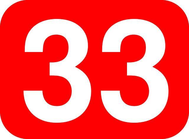 33 カバラ 数 秘術
