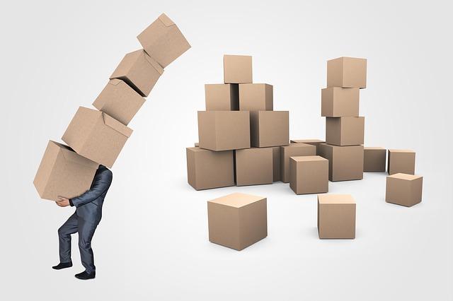 たくさんの箱