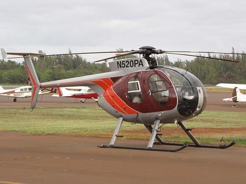 中古のヘリコプター