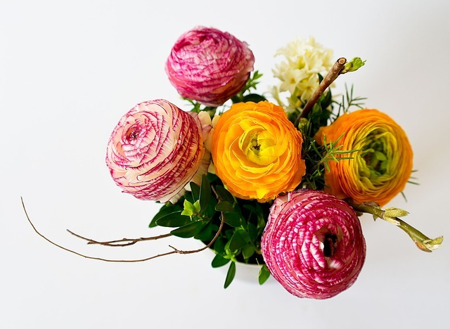 送別用にプレゼントする花