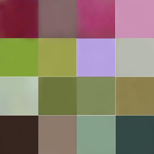 地味なカラーチャート