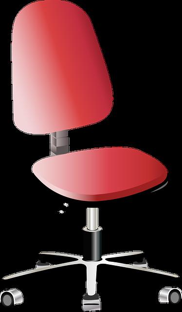 椅子の高さを変える