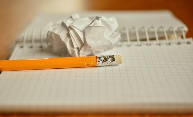 丸められた紙
