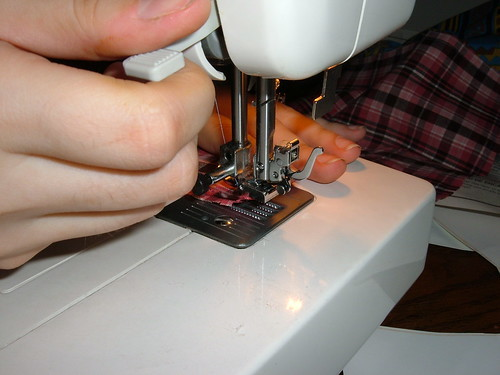 返し縫いのコツ