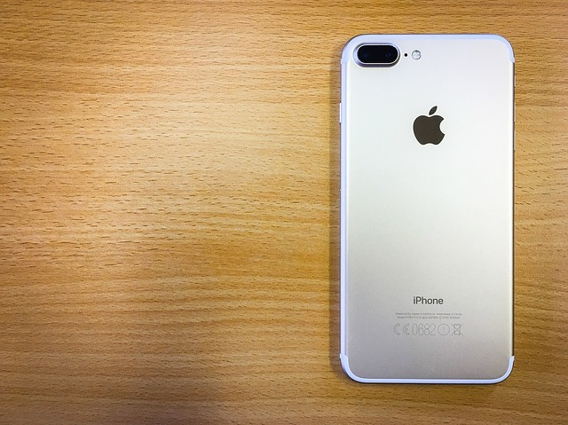 iPhone7を何も接続されていない状態にする