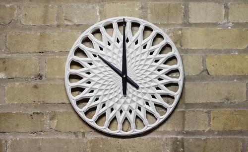 手作り壁掛け時計
