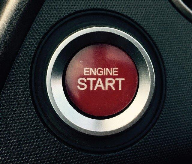 エンジン始動