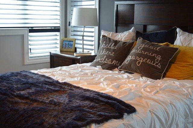 ゴージャスなベッド
