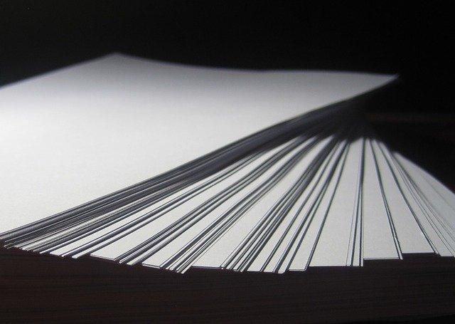 たくさんの紙