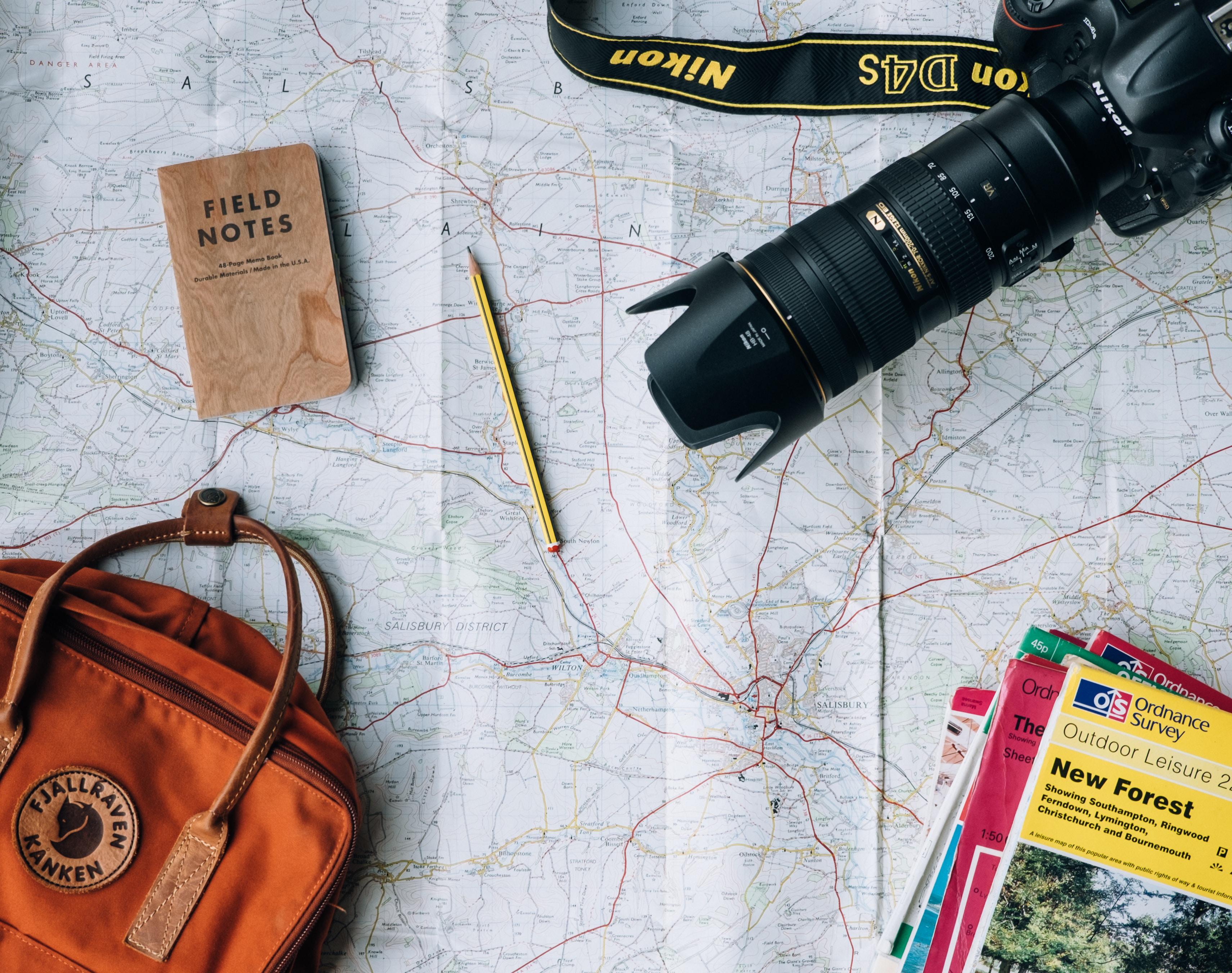 ミニマリストの旅行事情!国内・海外用の持ち物リスト・バッグ・服装を紹介!