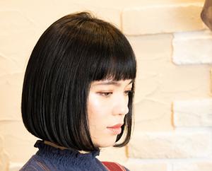 黒髪ボブのアレンジ術まとめ!コテで簡単にできるおしゃれヘアスタイルも!