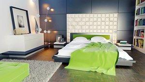 寝室の壁紙は何色にするべき?色別の効果やおすすめの配色を詳しく紹介!