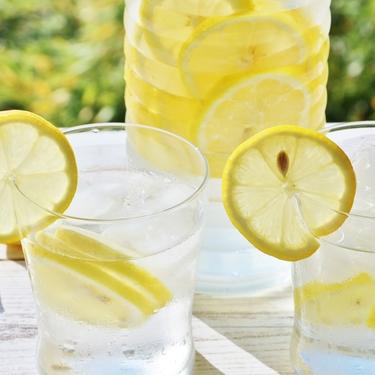 レモン水はダイエットや美容に効果抜群!レモンウォーターのメリットや作り方も!
