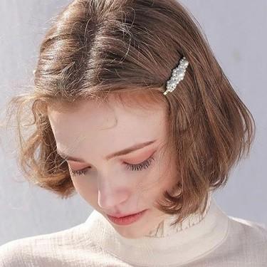 ボブ×センター分けの髪型がかわいい♡おしゃれなアレンジ・セット方法紹介!