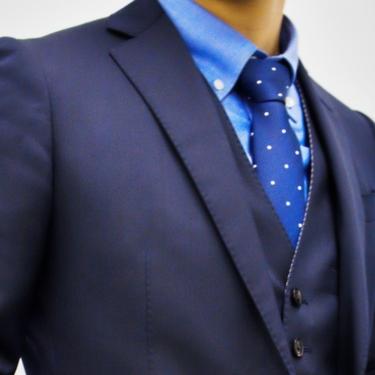 スリーピーススーツのかっこいい着こなし方を学ぼう!ビジネスや結婚式にも!