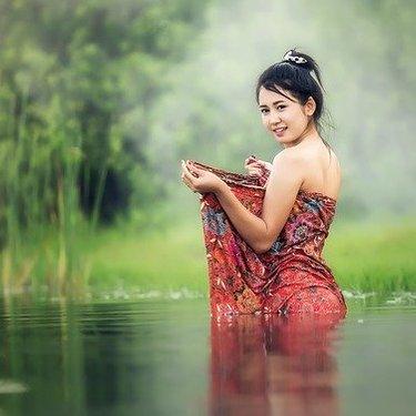 女性のさらしの巻き方を部位別でレクチャー!体型をスッキリ見せる方法も紹介!