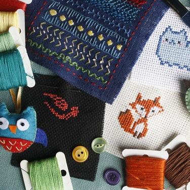 刺繍に必要な道具をチェック!初心者にもおすすめな便利なアイテムもあり!