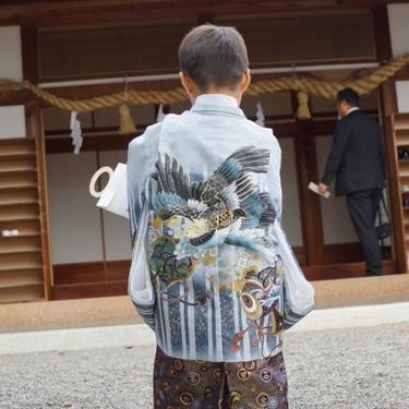 3歳の男の子の七五三ガイド!おすすめの着物や祝うタイミングもチェック!