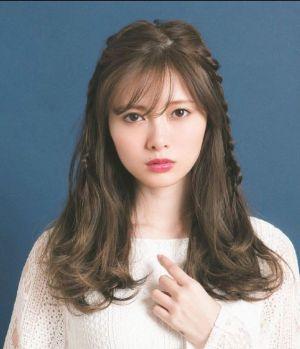 髪型が可愛い白石麻衣さん