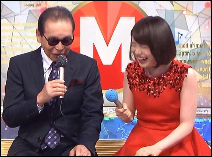 タモリさんと弘中綾香