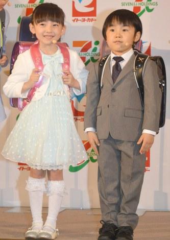 住田萌乃と寺田心は2008年生まれの今年10歳の同い年です。3年前の2015年の住田萌乃の身長は107cmであったという情報があります。寺田心も3年前は106cmですので、画像で