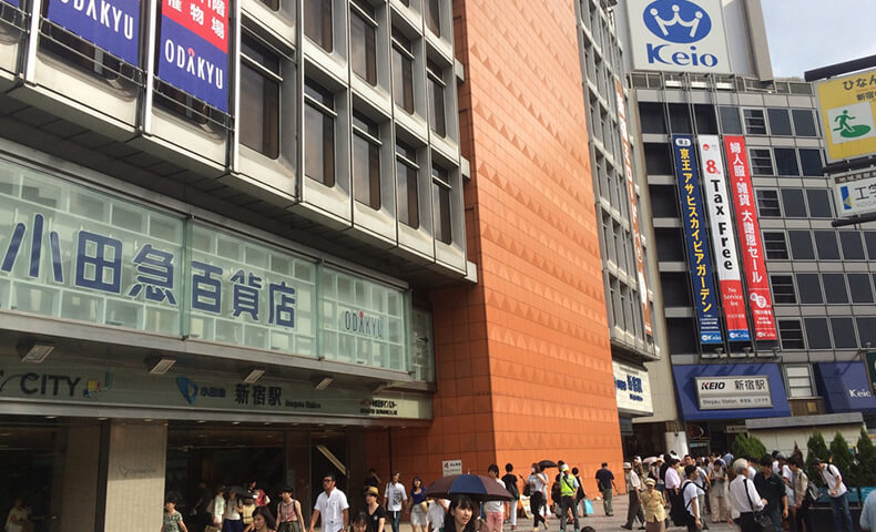 新宿駅からの詳しい道順2