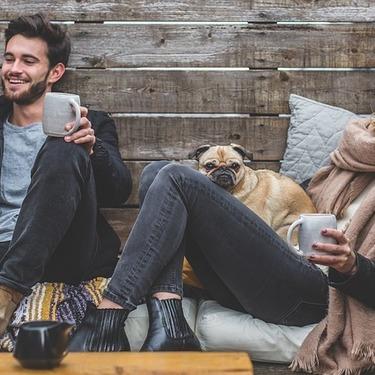 犬が飼い主の膝の上に座る理由は?しつけ上座るのを許しても良いのか?