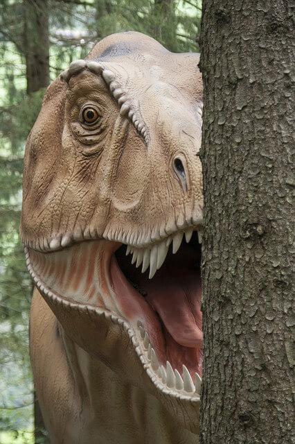 恐竜 に 追いかけ られる 夢